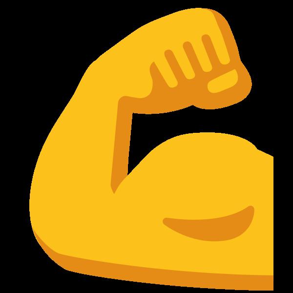 Emoji muscle