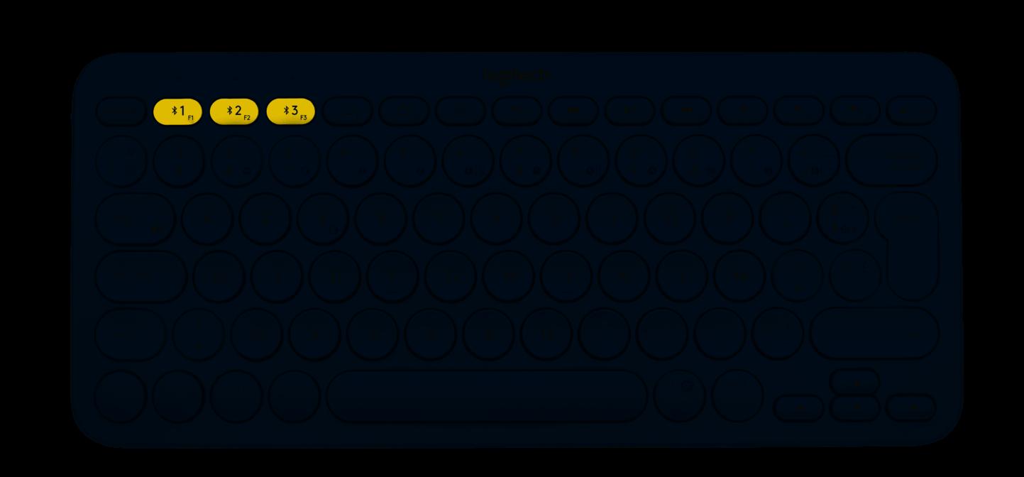 Clavier Logitech K380