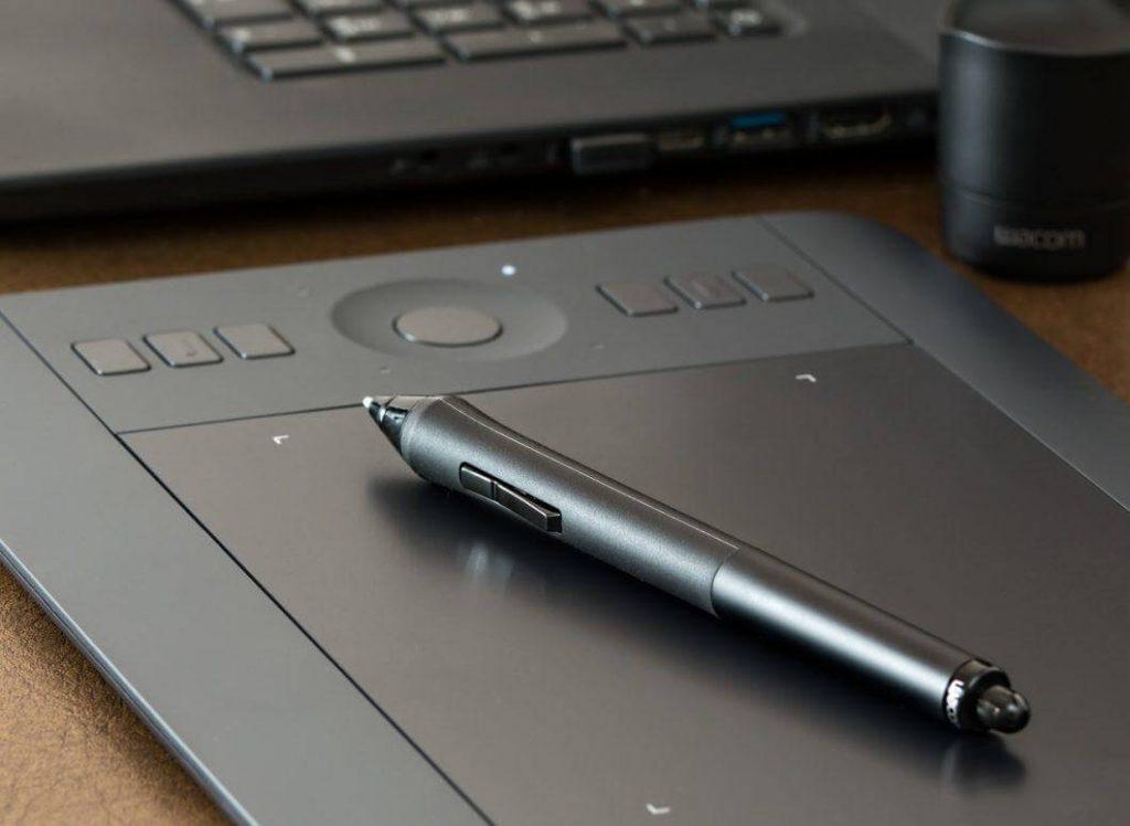 Tablette graphique et son stylo